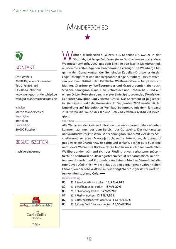 Eichelmann Pressetext Manderschied