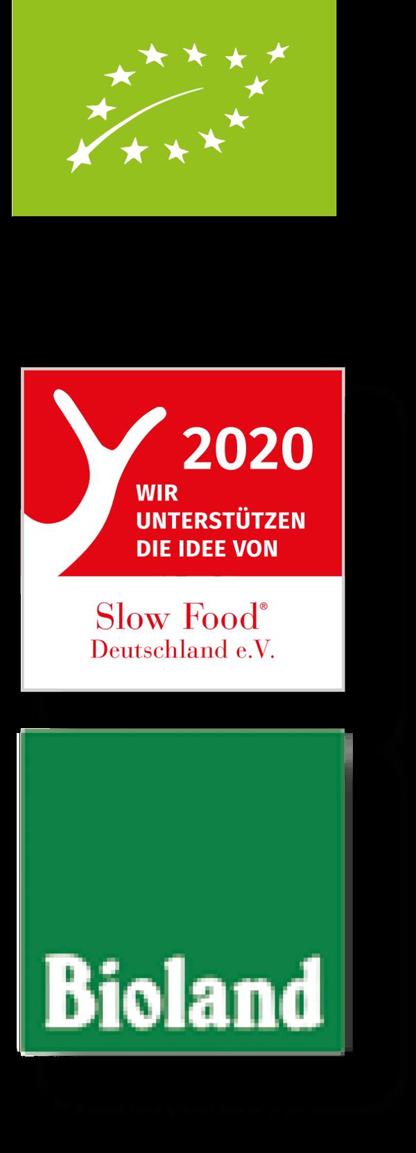 DE-ÖKO-022 Deutsche Landwirtschaft – Slow Food 2020 – Bioland DE-ÖKO-022
