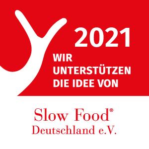 Wir unterstützen die Idee von Slow Food Deutschland e. V. 2021